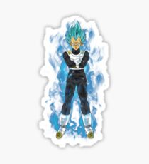 vegeto super saiyan Sticker