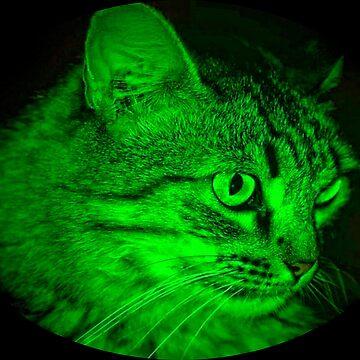 Furry in Green by Bobbydog