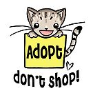 Adopt Don't Shop Kitty by reloveplanet