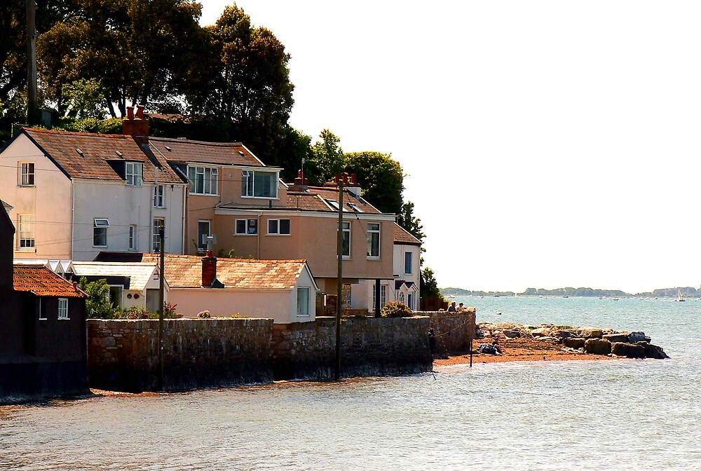 High Tide at Lympstone by JPPhotography