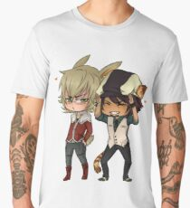 Tiger & Bunny Cute Chibi Men's Premium T-Shirt