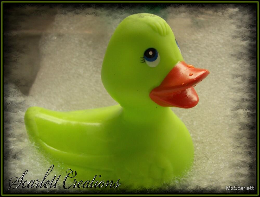 Rubber Duckie by MzScarlett