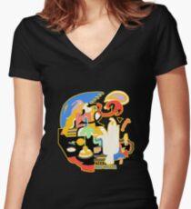 Big Miller Women's Fitted V-Neck T-Shirt