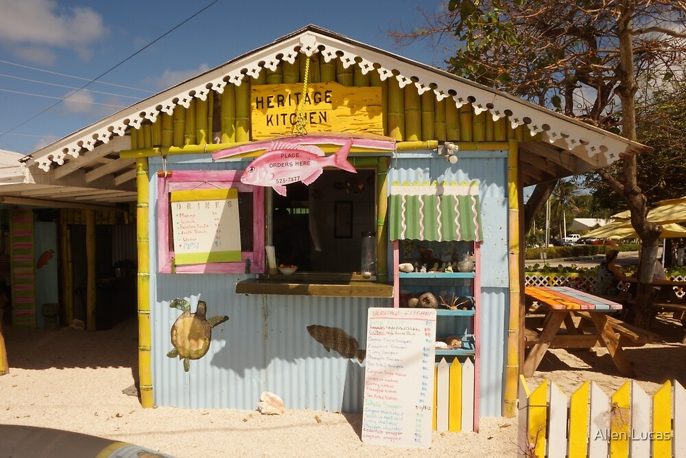 Heritage Kitchen, West Bay, Grand Cayman by Allen Lucas