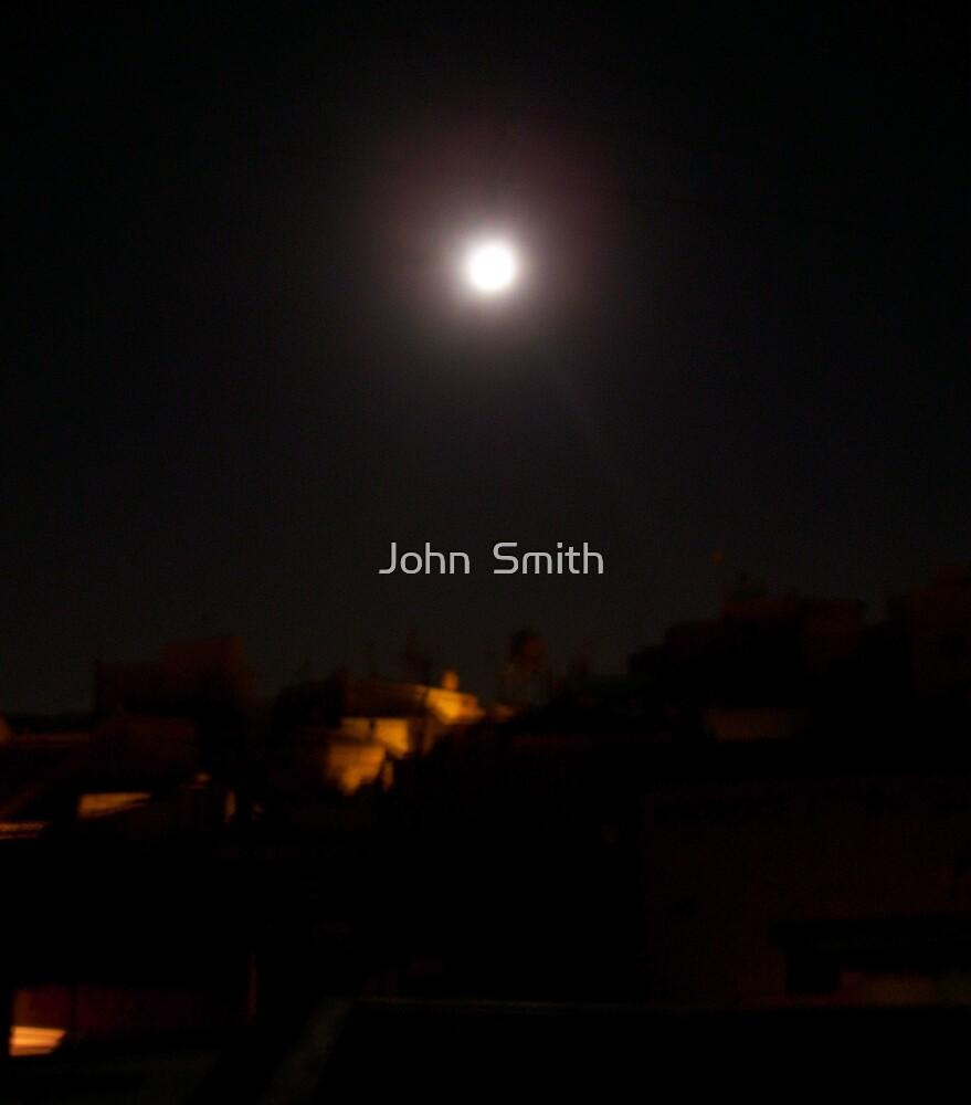 """"""" Full Moon."""" by John  Smith"""