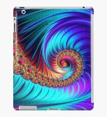 """Mesmerize"" | Fractal Art Spiral Pattern iPad Case/Skin"