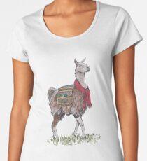 Llama the Yarnbringer  Women's Premium T-Shirt