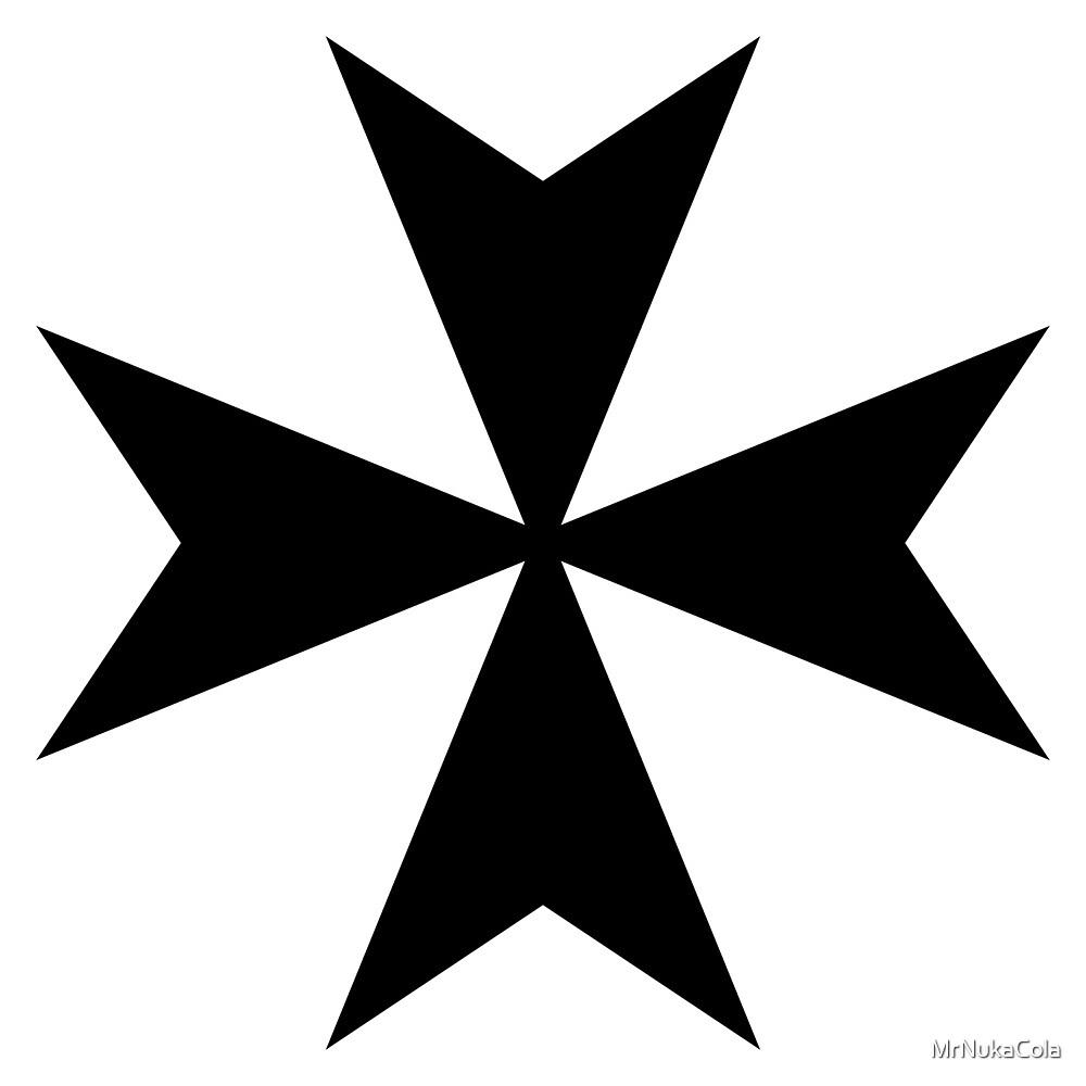 Maltese Cross Black by MrNukaCola
