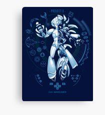 PROJECT X - Blue Print Edition Canvas Print