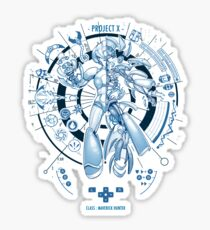 PROJECT X - Blue Print Edition Sticker