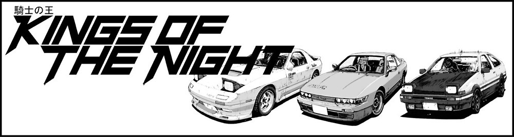 Kings of the Night Initial D by Connor Plaksin