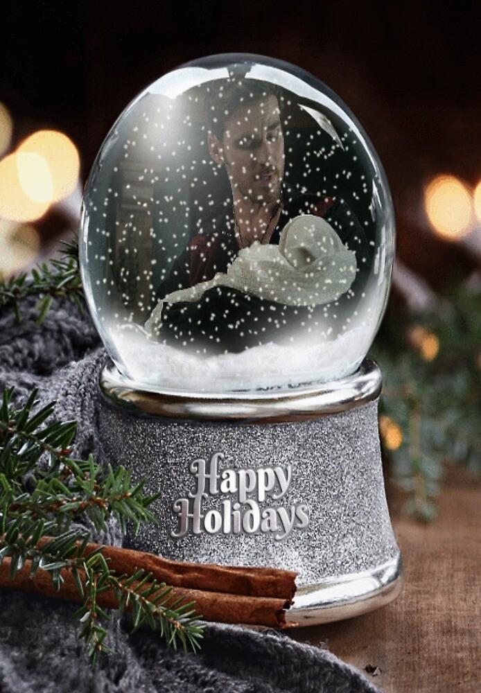 Captain Hook Happy Holidays 1 by killian8921