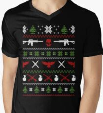 Merry Military Army Ugly Christmas Sweater Funny Tshirt T-Shirt