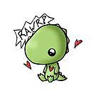 Rawr Dino Baby by reloveplanet