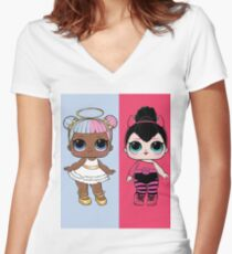 L.O.L Surprise - Sugar and Spice Women's Fitted V-Neck T-Shirt