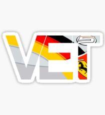 Sebastian Vettel TV Tag 2015 Sticker