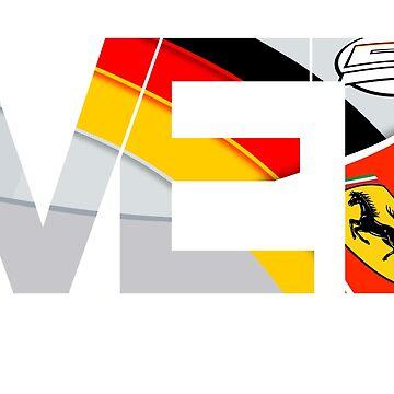 Sebastian Vettel TV Tag 2015 by robbybrillantes
