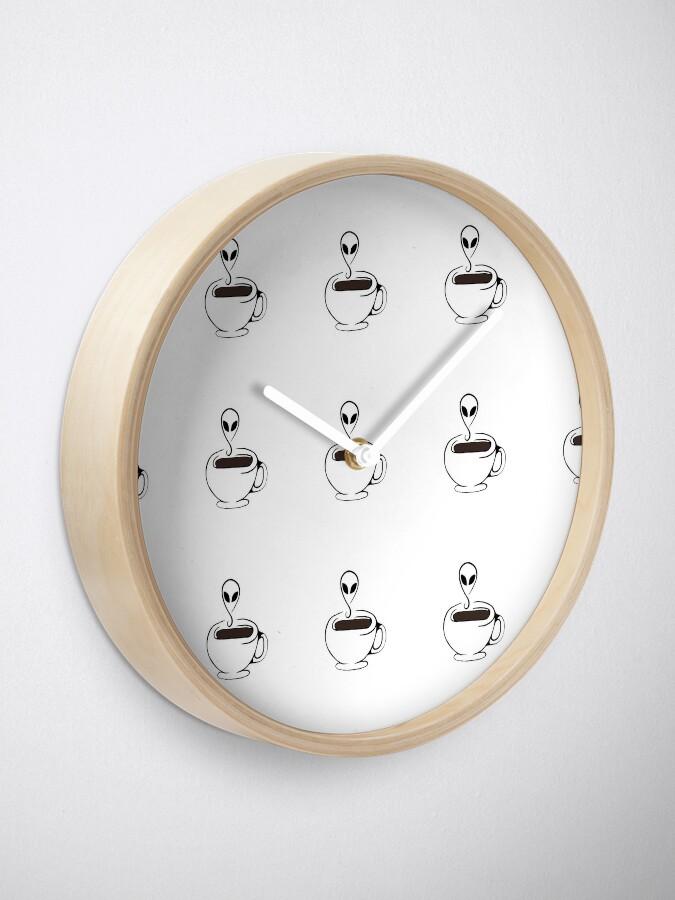 Vista alternativa de Reloj Café fuera de este mundo
