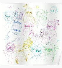 Inkling Sketches Poster