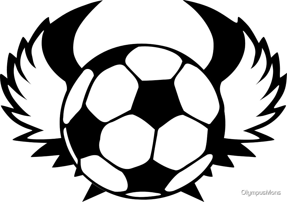 The Flying Soccer Ball by OlympusMons
