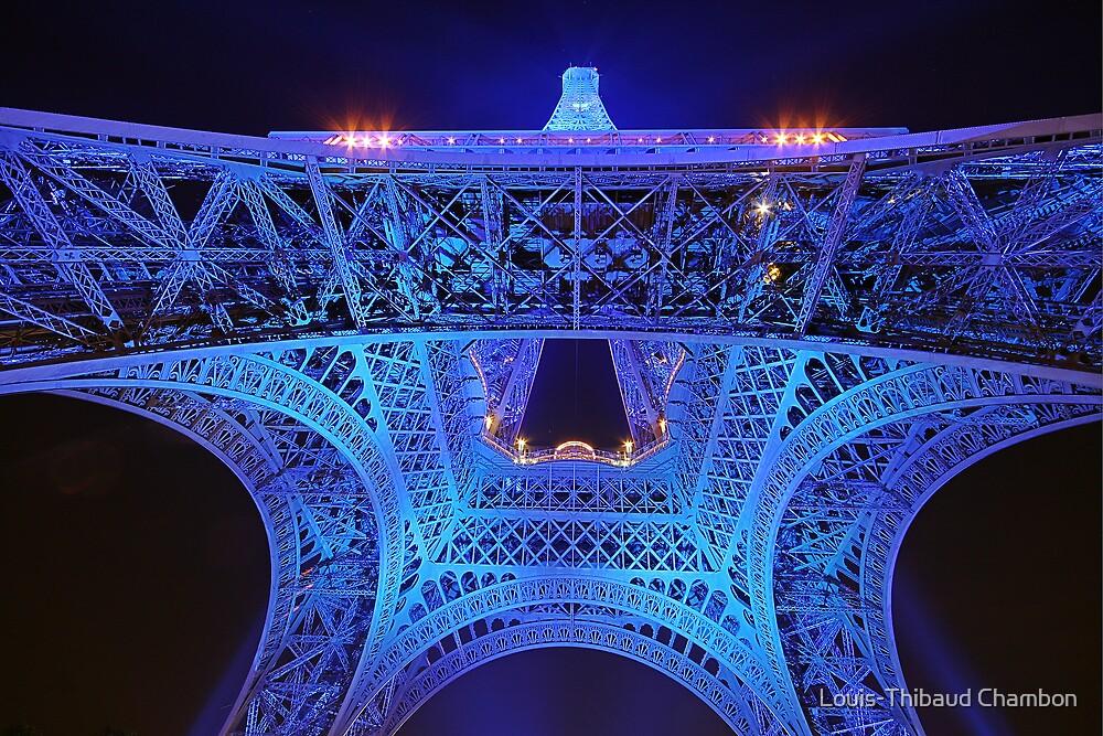 Paris - Eiffel Tower by Louis-Thibaud Chambon