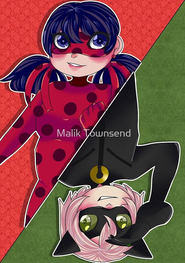 Miraculous Ladybug LadyNoir by Malik Townsend