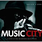 MUSIC CITY book cover by Brian Carr