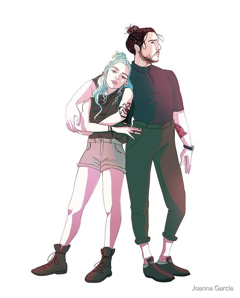 Modern Jon and Daenerys by Joanna Garcia