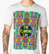 The Flaming Lips - Psychedelic Pattern 1 Men's Premium T-Shirt