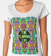 The Flaming Lips - Psychedelic Pattern 1 Women's Premium T-Shirt