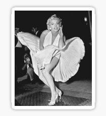 Marilyn Monroe Photo Pose Sticker
