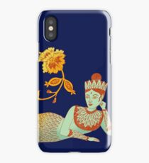 Flower Devi Green Goddess iPhone Case/Skin