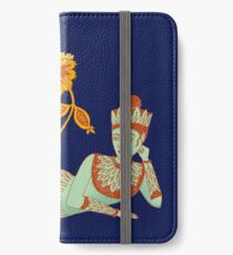 Flower Devi Green Goddess iPhone Wallet/Case/Skin