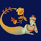 Flower Devi Green Goddess by SusanSanford