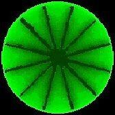 Green Circle 2 by Mike Donovan