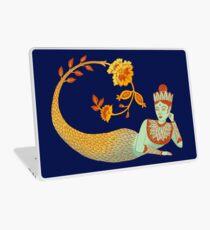 Flower Devi Green Goddess Laptop Skin