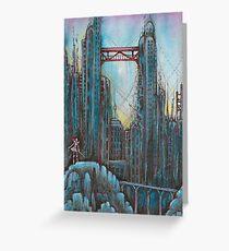 Broken city  Greeting Card