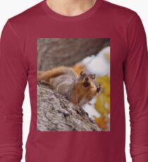 Squirrel Meme Long Sleeve T-Shirt