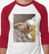 Squirrel Meme Men's Baseball ¾ T-Shirt