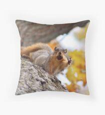 Squirrel Meme Throw Pillow