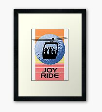 Disney Skyliner Gondola Joy Ride Framed Print