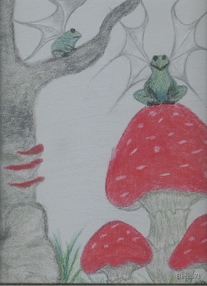 Flying Frogs by Becca71