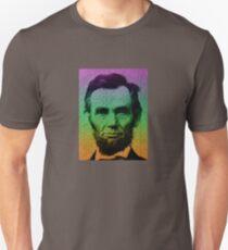 Abraham Lincoln Pop Art Unisex T-Shirt