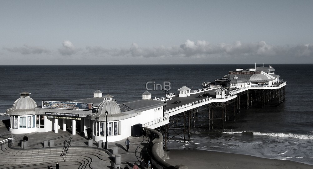 Post Card From The Pier by CinB