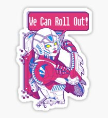 Arcee - We Can Roll OUT! Sticker