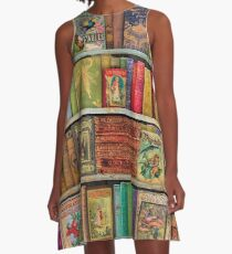 A Daydreamer's Book Shelf A-Line Dress