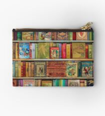 A Daydreamer's Book Shelf Studio Pouch