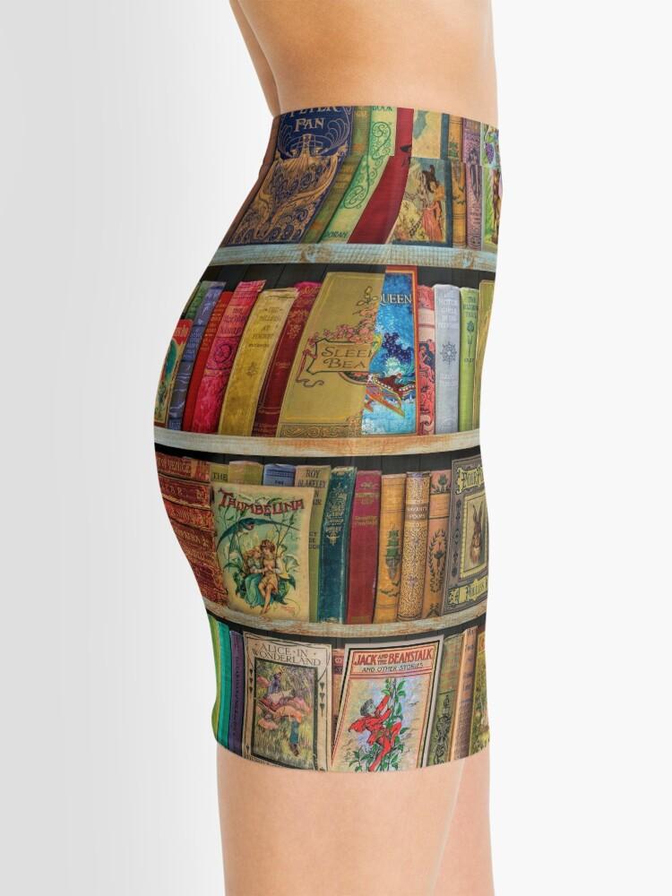 Alternate view of A Daydreamer's Book Shelf Mini Skirt