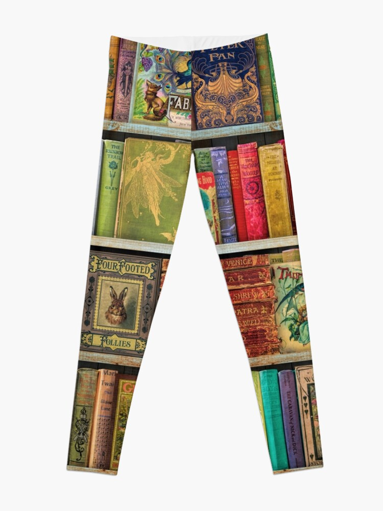 Alternate view of A Daydreamer's Book Shelf Leggings