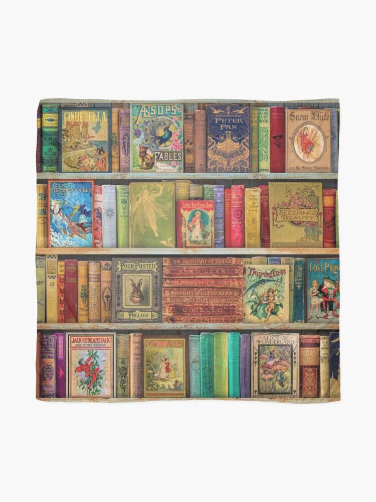 Alternate view of A Daydreamer's Book Shelf Scarf